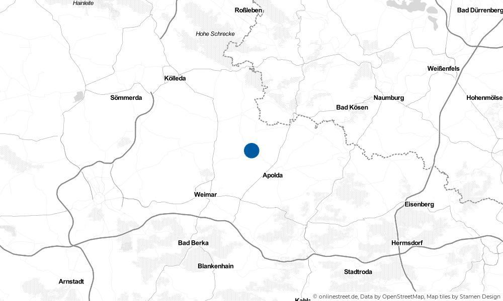 Karte: Wo liegt Pfiffelbach?