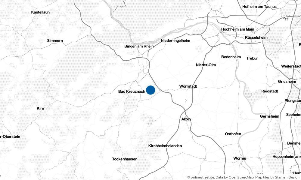 Karte: Wo liegt Pleitersheim?