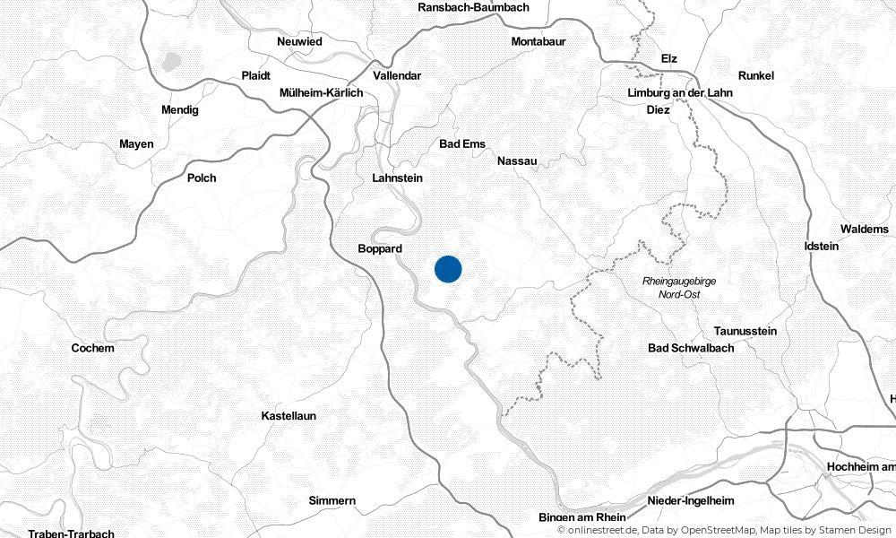 Karte: Wo liegt Dahlheim?