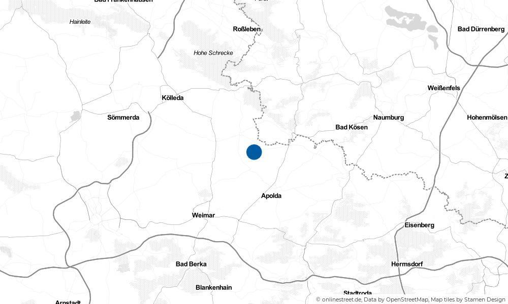 Karte: Wo liegt Willerstedt?