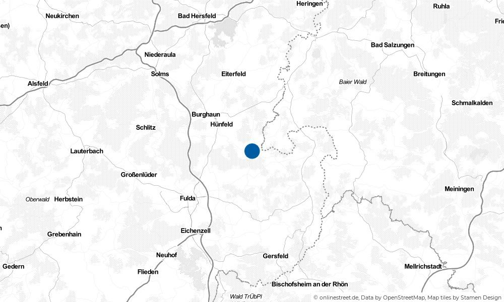 Karte: Wo liegt Nüsttal?
