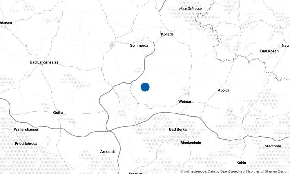 Karte: Wo liegt Kleinmölsen?