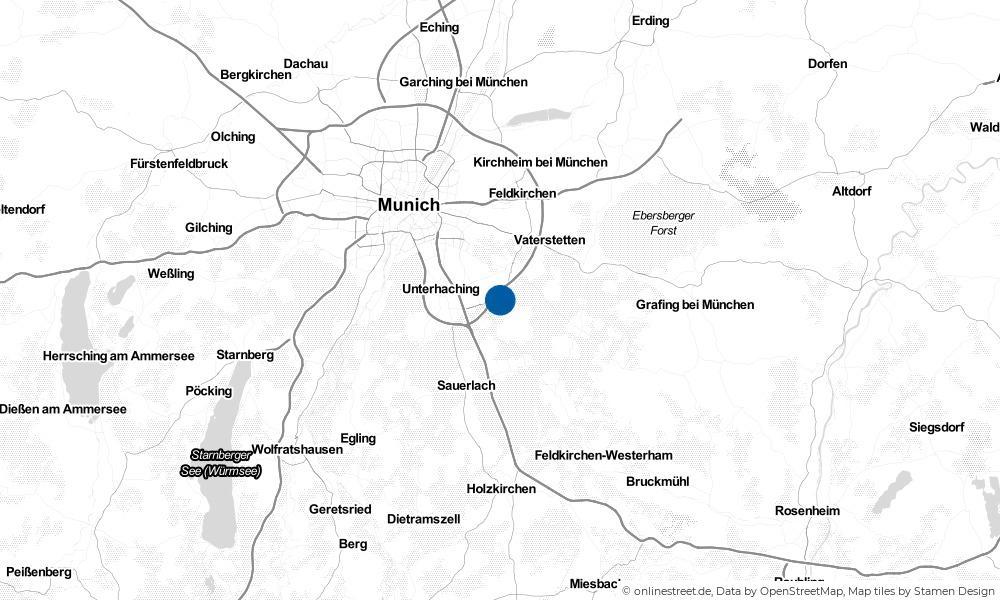 Karte: Wo liegt Hohenbrunn?