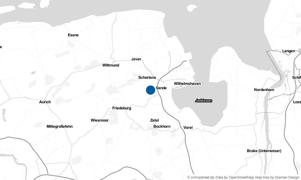 Karte: Wo liegt Dykhausen?