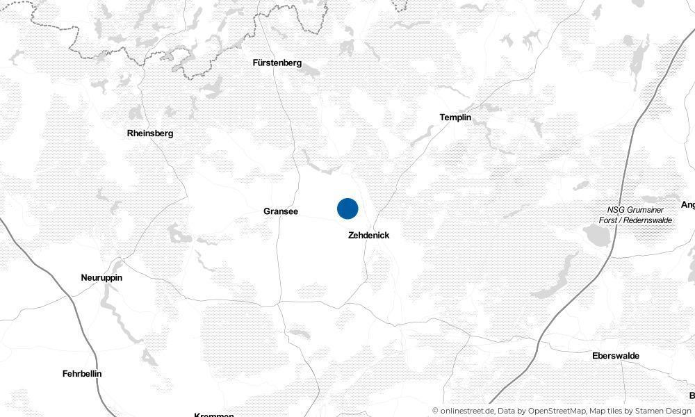 Karte: Wo liegt Mildenberg?