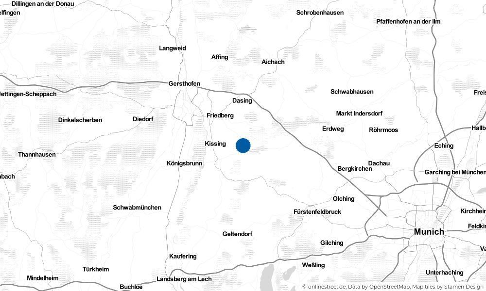 Karte: Wo liegt Ried?