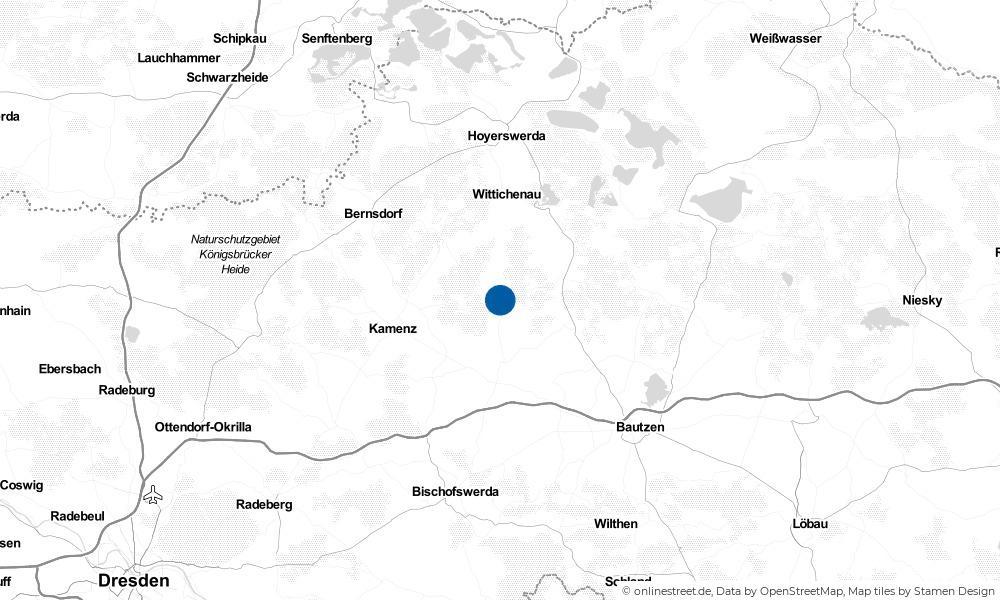 Karte: Wo liegt Ralbitz-Rosenthal?