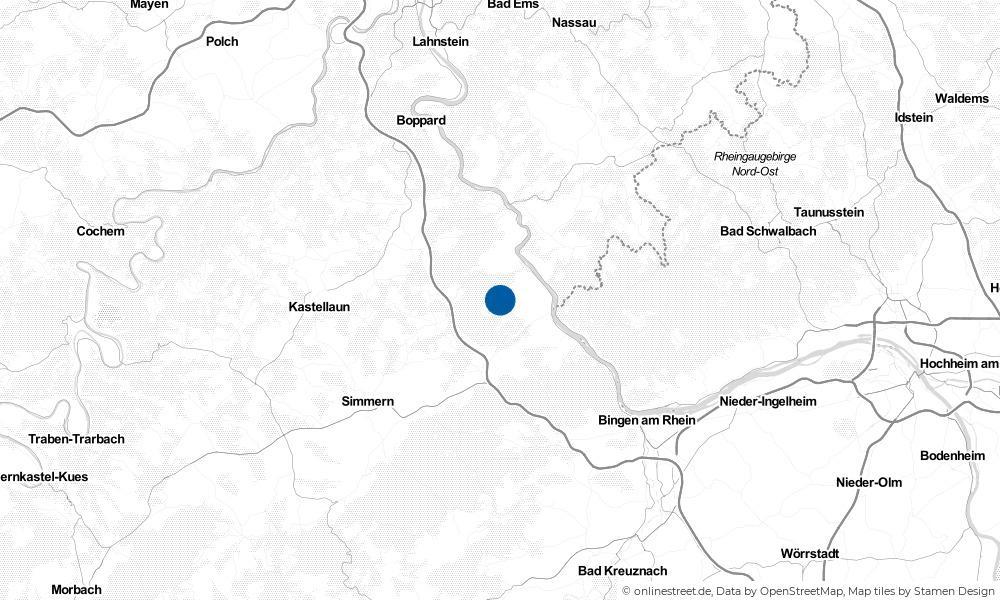 Karte: Wo liegt Perscheid?