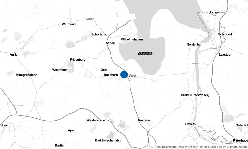 Karte: Wo liegt Winkelsheide?
