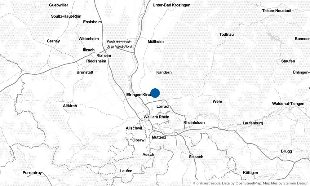 Karte: Wo liegt Schallbach?