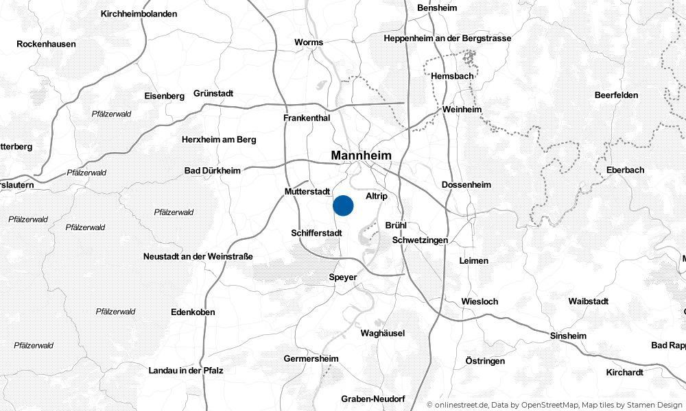 Karte: Wo liegt Neuhofen?
