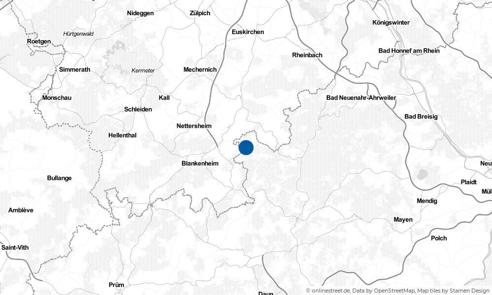 Karte: Wo liegt Hümmel?
