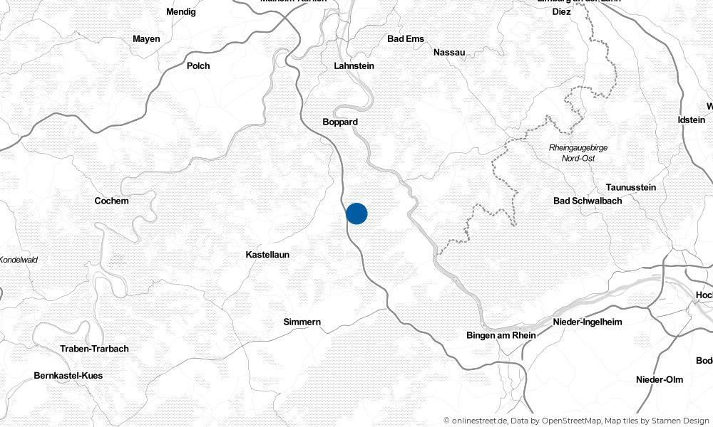 Karte: Wo liegt Birkheim?