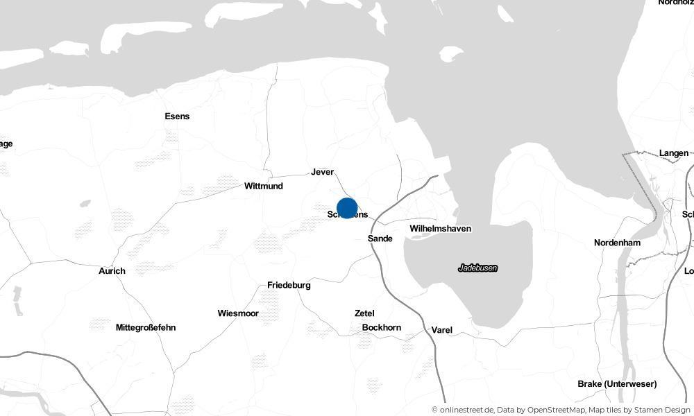 Karte: Wo liegt Heidmühle?