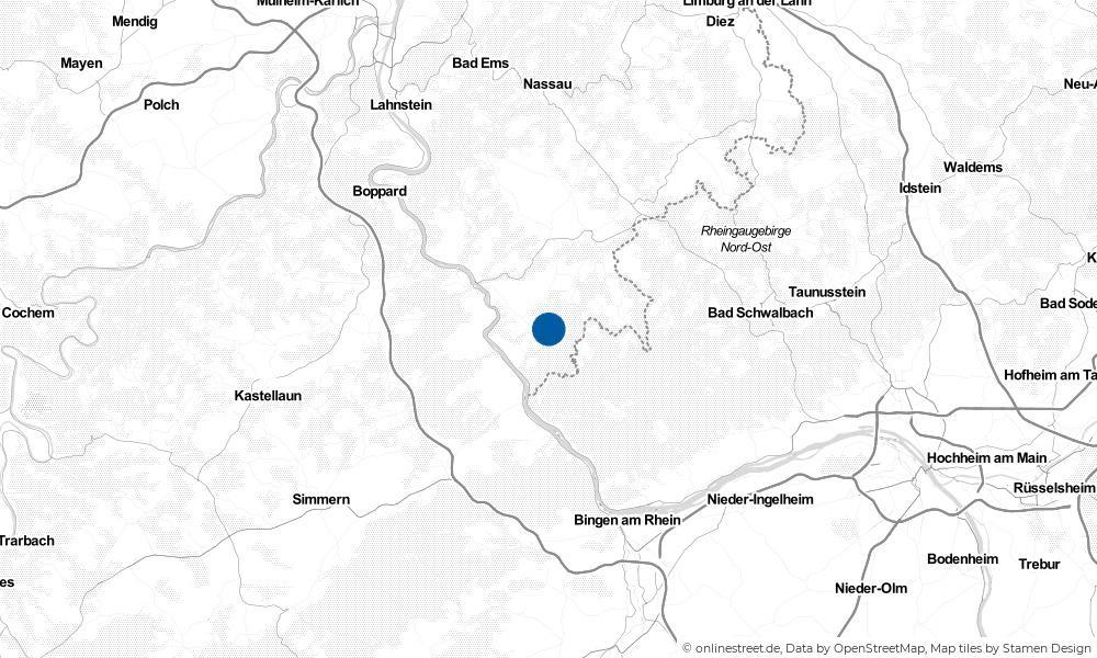 Karte: Wo liegt Weisel?