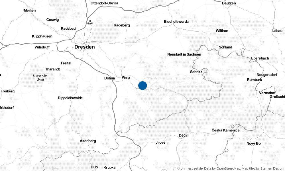 Karte: Wo liegt Struppen?
