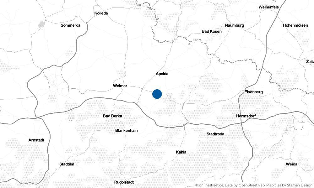 Karte: Wo liegt Hohlstedt?