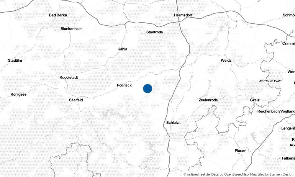 Karte: Wo liegt Quaschwitz?