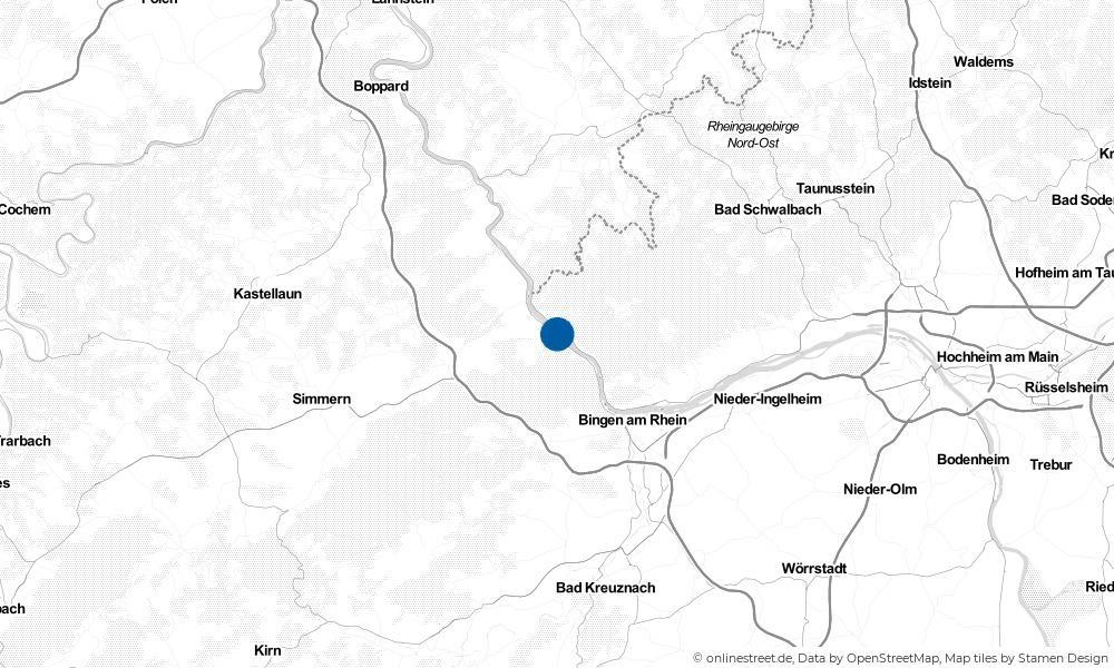 Karte: Wo liegt Niederheimbach?