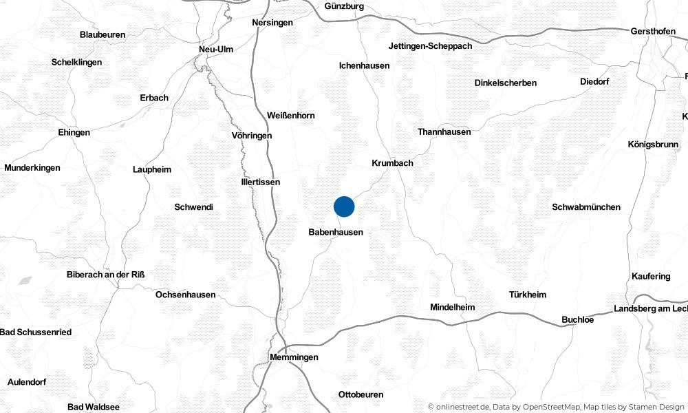 Karte: Wo liegt Kettershausen?