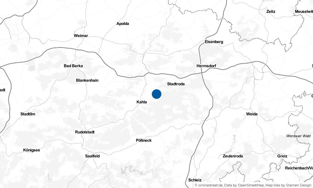 Karte: Wo liegt Unterbodnitz?