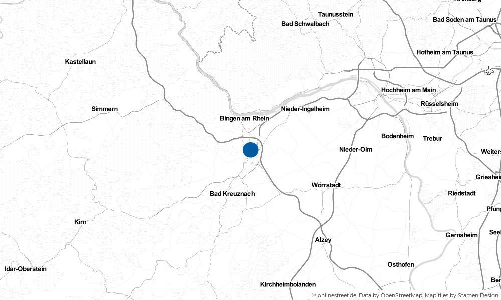 Karte: Wo liegt Grolsheim?
