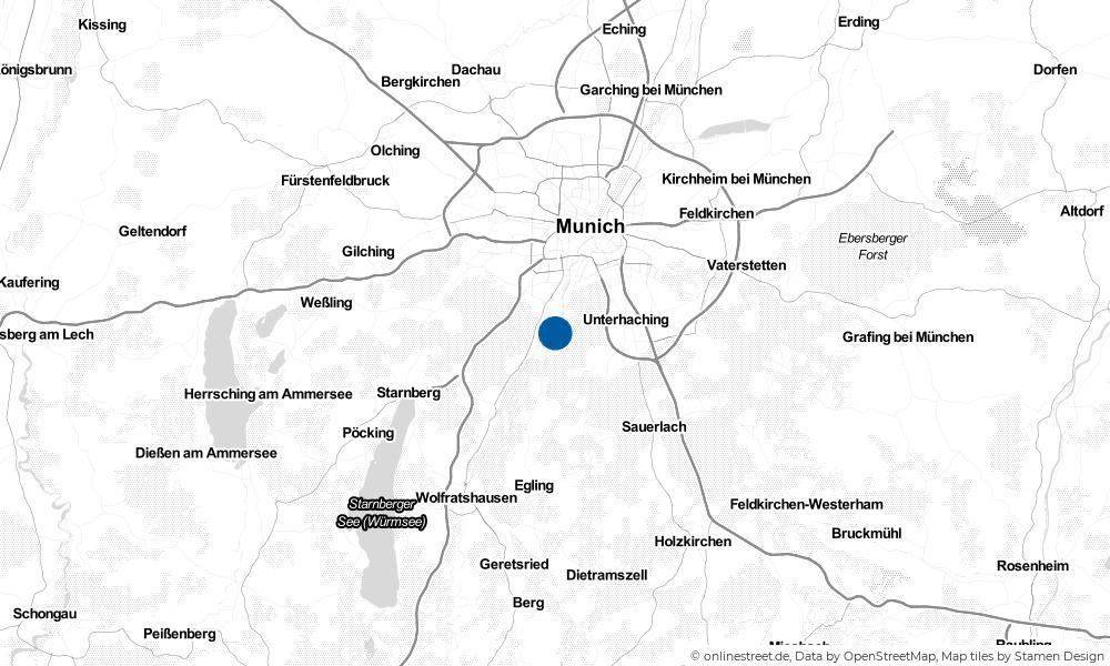 Karte: Wo liegt Grünwald?