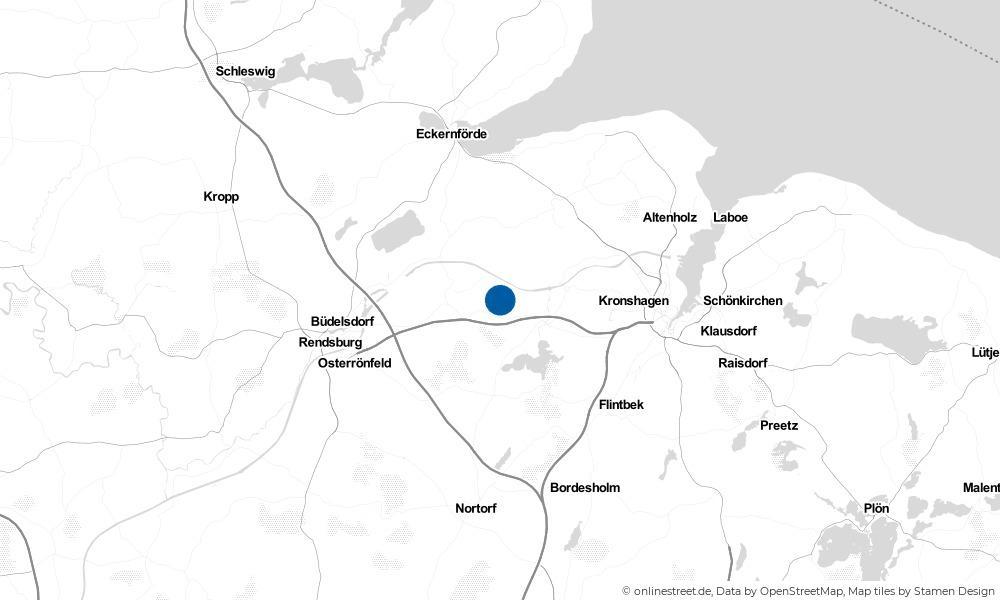 Karte: Wo liegt Krummwisch?