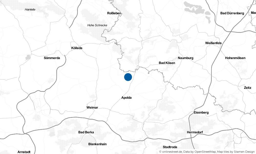Karte: Wo liegt Ködderitzsch?