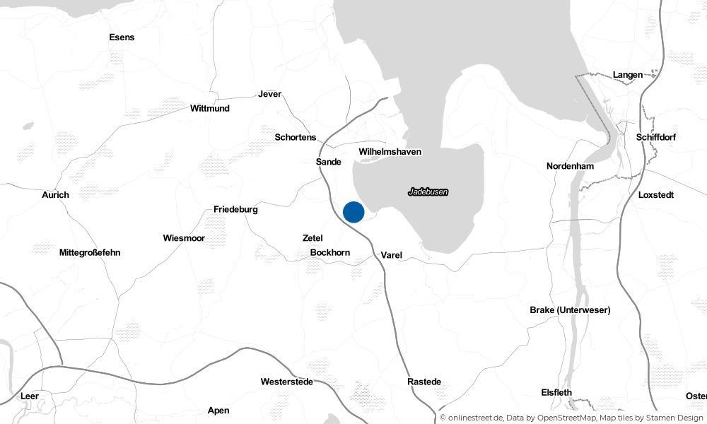 Karte: Wo liegt Adelheidsgroden?