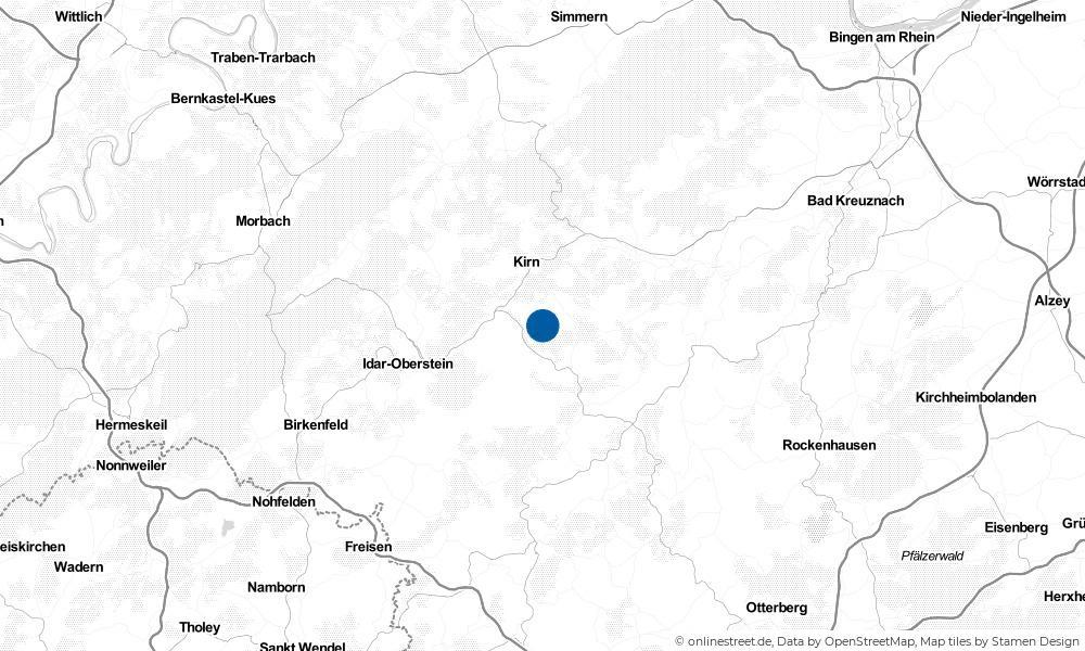 Karte: Wo liegt Schmidthachenbach?