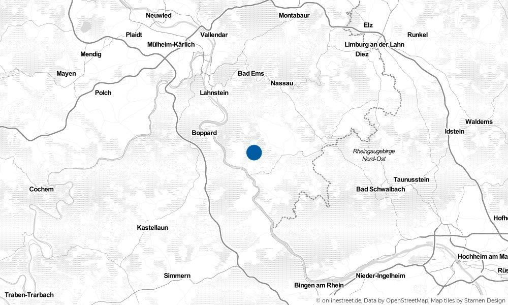 Karte: Wo liegt Weyer?