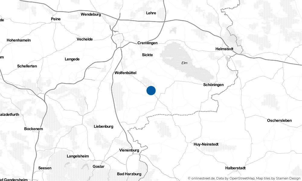Karte: Wo liegt Remlingen?