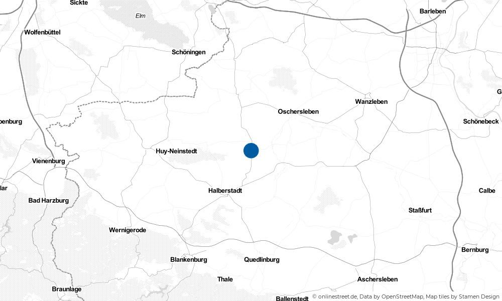 Karte: Wo liegt Schwanebeck?
