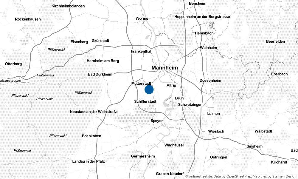 Karte: Wo liegt Limburgerhof?