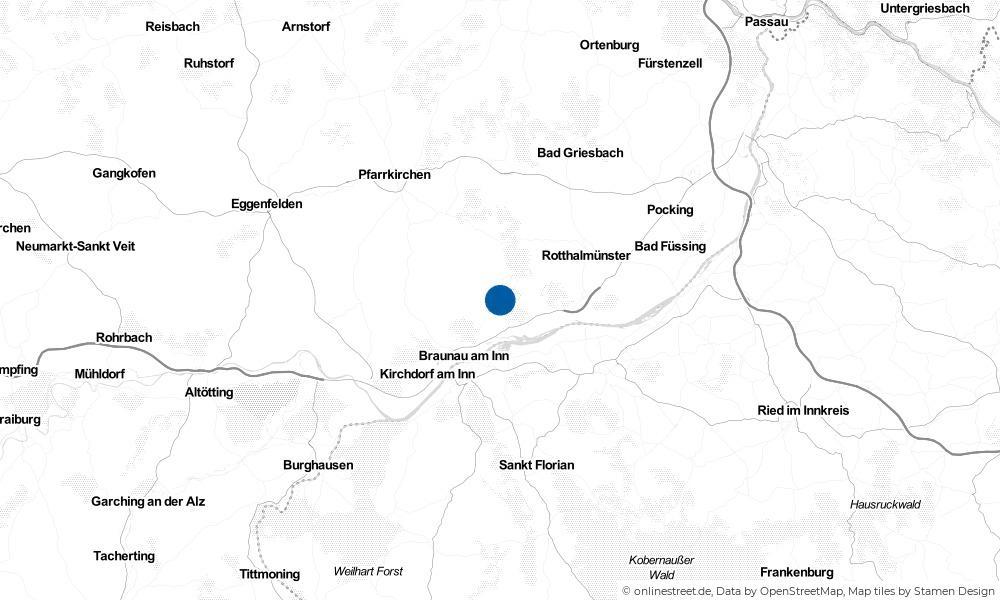 Karte: Wo liegt Stubenberg?