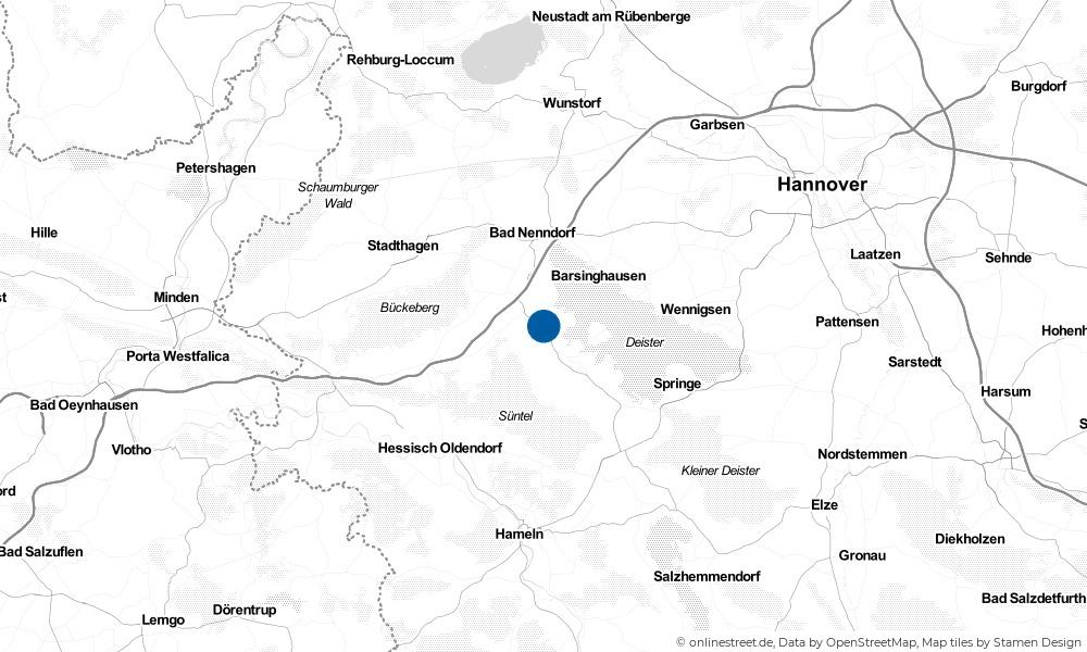Karte: Wo liegt Messenkamp?