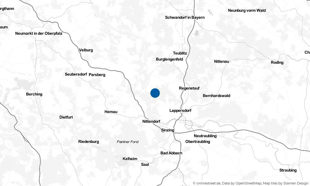 Karte: Wo liegt Wolfsegg?