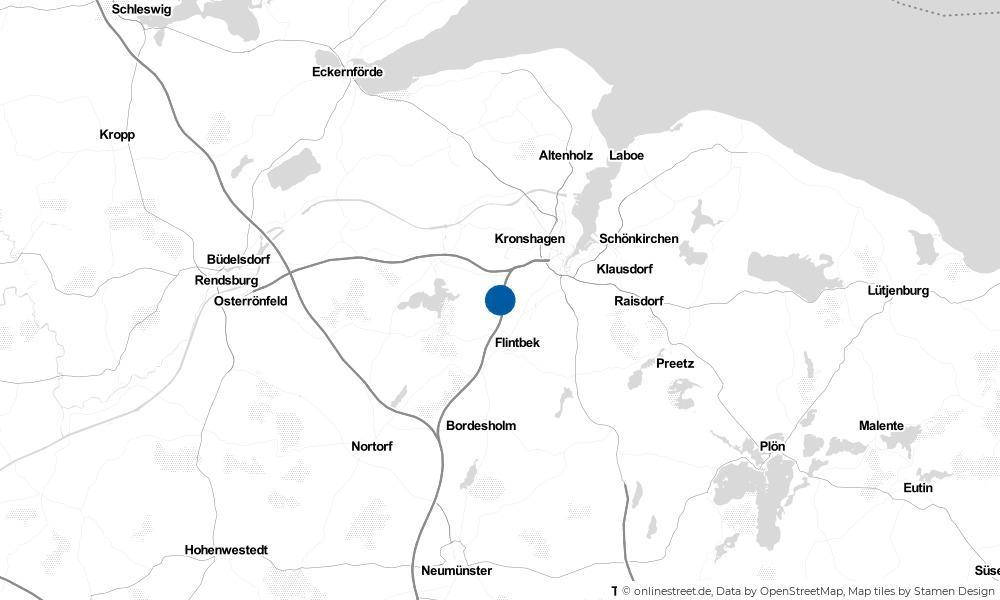 Karte: Wo liegt Mielkendorf?