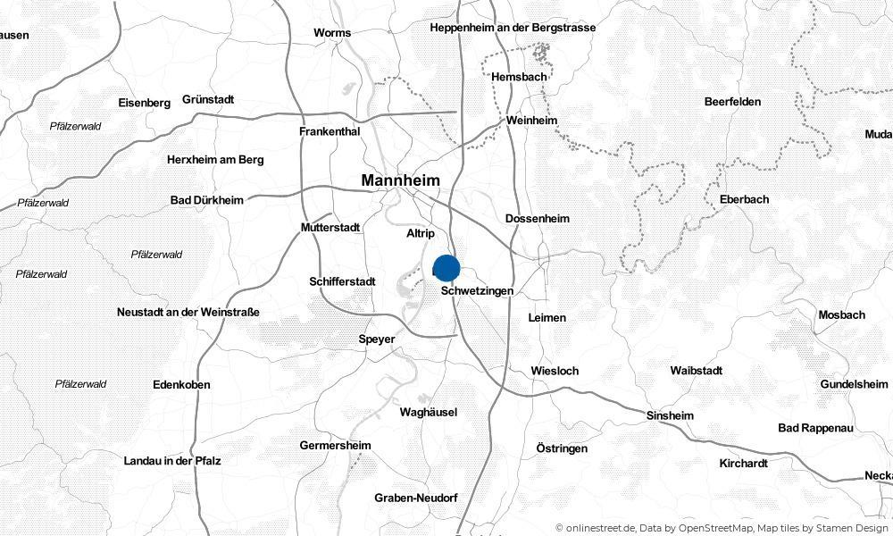 Karte: Wo liegt Brühl?