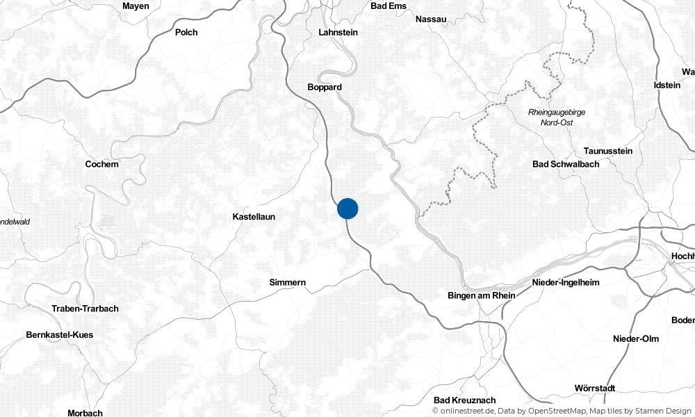 Karte: Wo liegt Wiebelsheim?