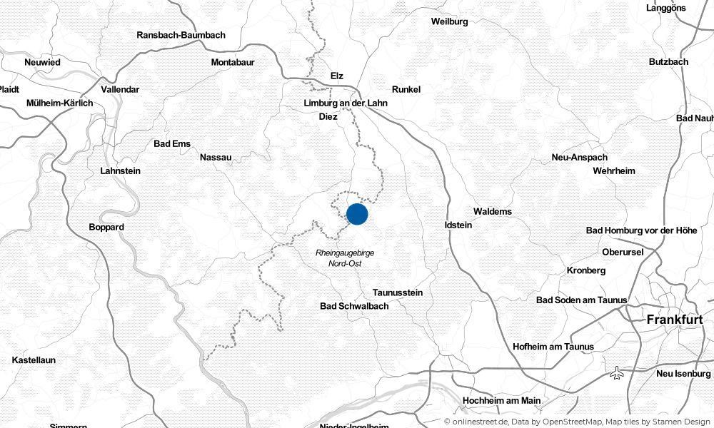 Karte: Wo liegt Aarbergen?