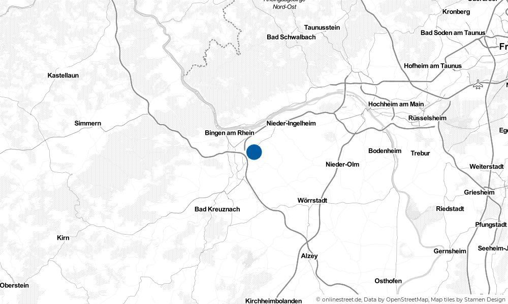 Karte: Wo liegt Ockenheim?