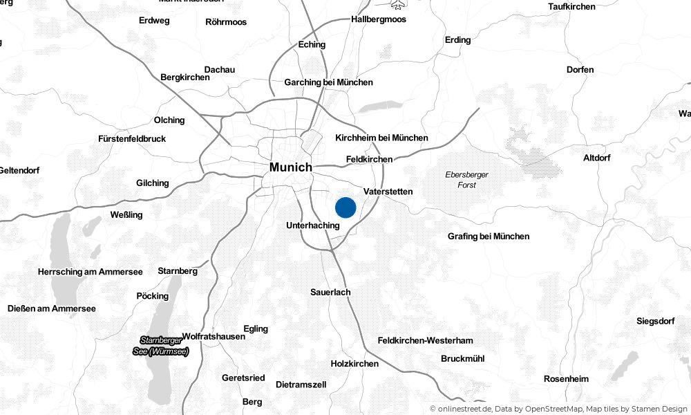 Karte: Wo liegt Neubiberg?