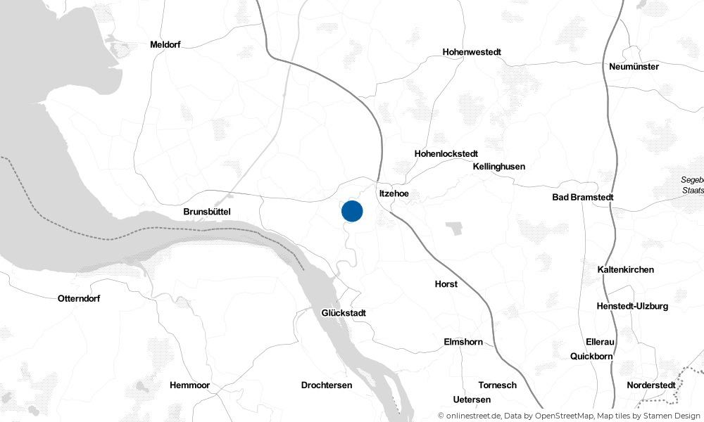 Karte: Wo liegt Hodorf?