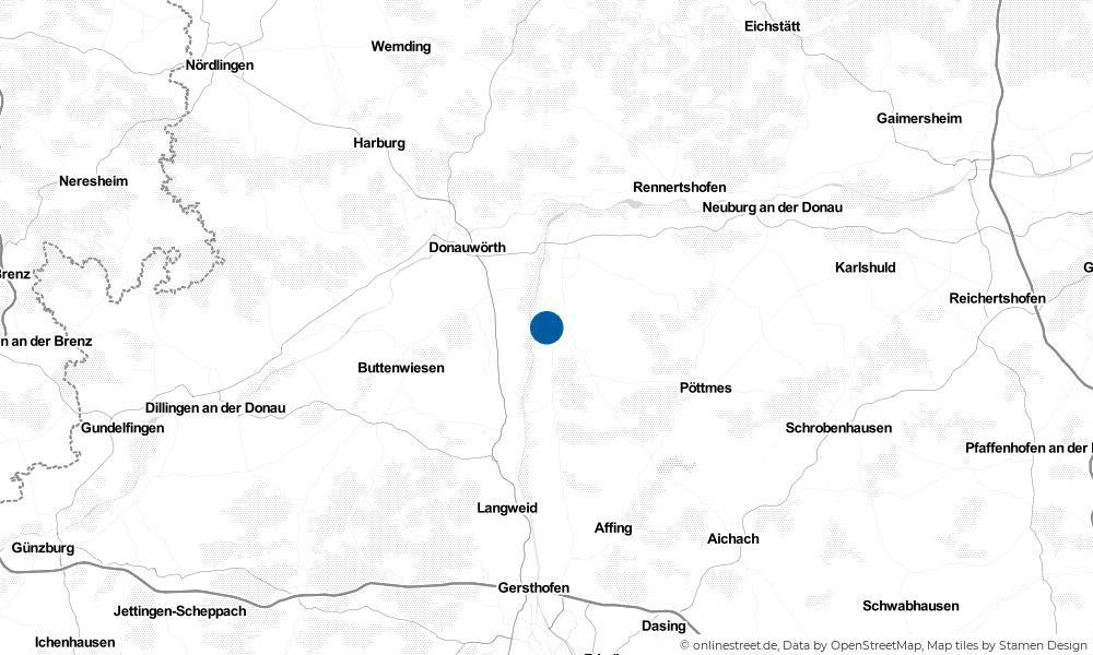 Karte: Wo liegt Münster?