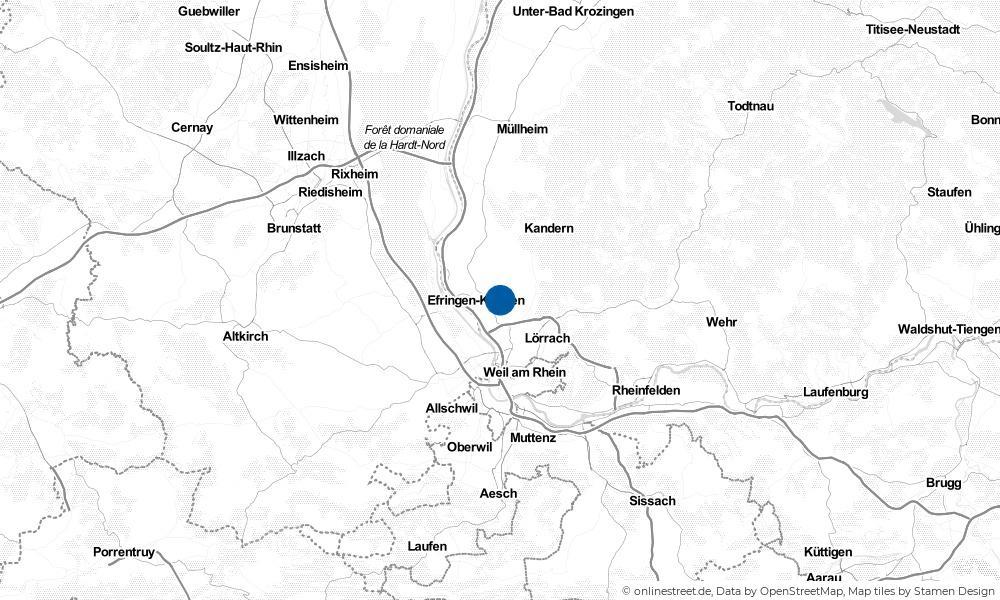 Karte: Wo liegt Fischingen?