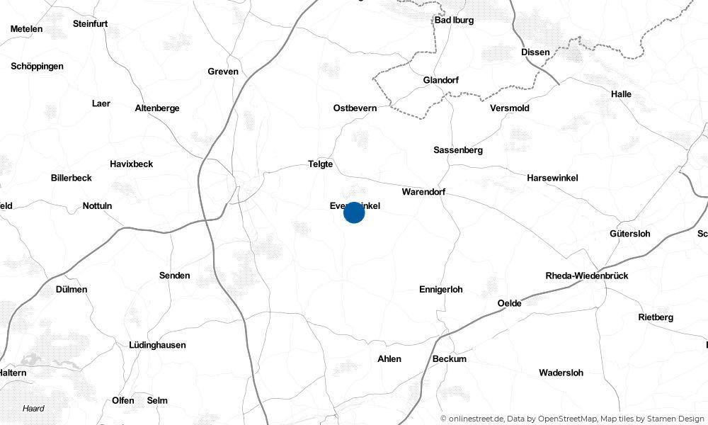 Karte: Wo liegt Everswinkel?