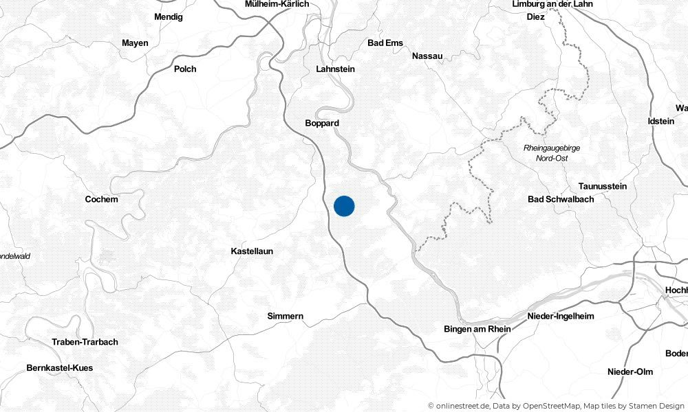 Karte: Wo liegt Badenhard?
