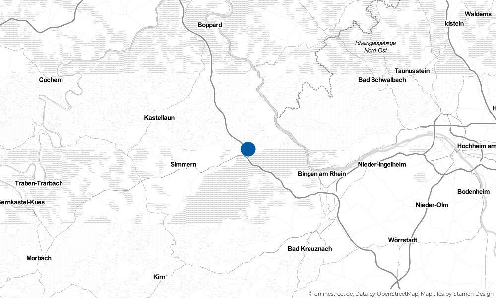 Karte: Wo liegt Dichtelbach?